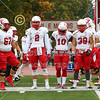 Team Captains and the Coin Toss - Wabash College Little Giants at Wittenberg University Tigers - Saturday, October 27, 2018