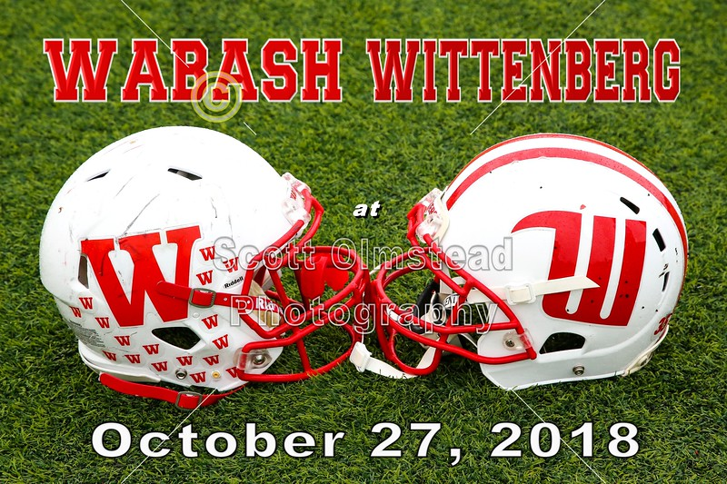 Wabash College Little Giants at Wittenberg University Tigers - Saturday, October 27, 2018
