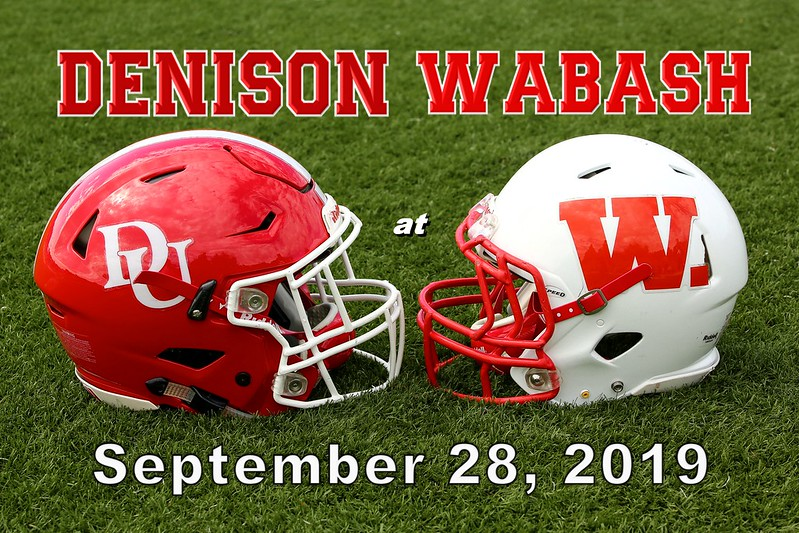 Senior Day and Homecoming at Wabash College located in Crawfordsville, Indiana - Denison University Big Red at Wabash College Little Giants - Saturday, September 28, 2019