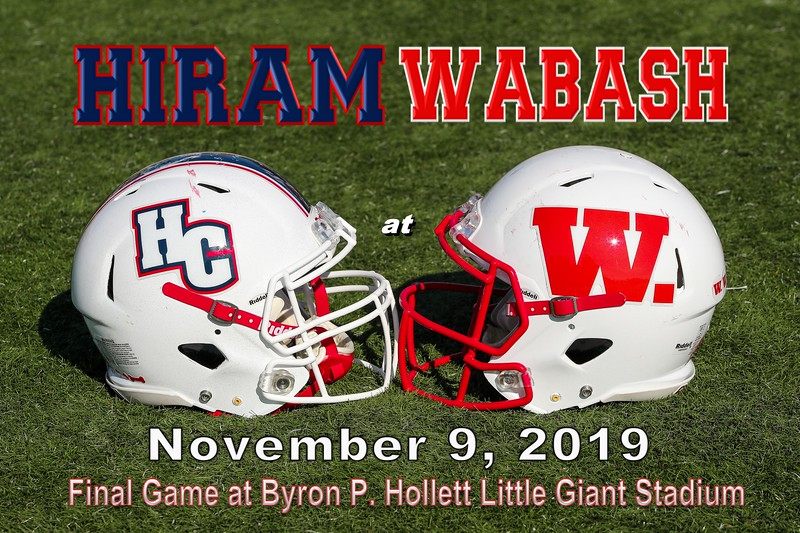 Hiram College Terriers at Wabash College Little Giants - Final Game Played in Byron P. Hollett Little Giant Stadium - Saturday, November 9, 2019