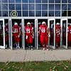 The Little Giants Enter the Stadium - Kenyon College Lords at Wabash College Little Giants - Saturday, November 2, 2019
