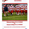 Official Game Program - Kenyon College Lords at Wabash College Little Giants - Saturday, November 2, 2019