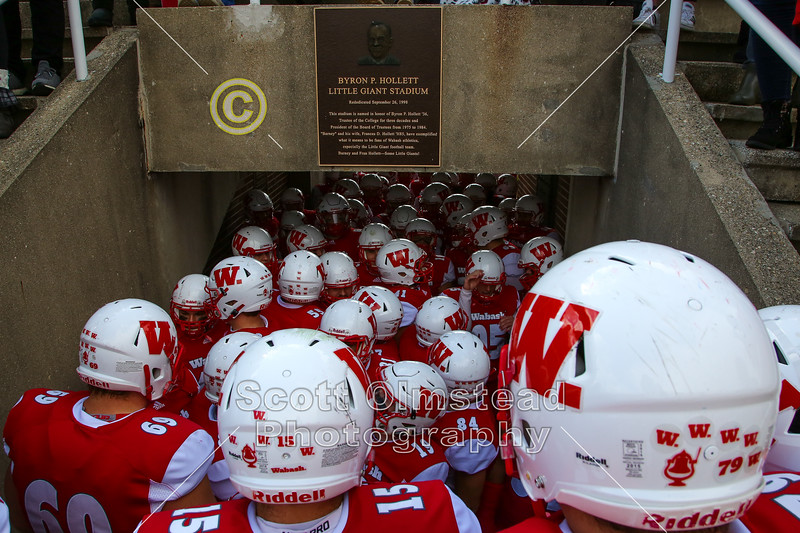 WABASH ALWAYS FIGHTS! - Kenyon College Lords at Wabash College Little Giants - Saturday, November 2, 2019