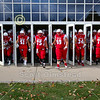 The Little Giants Enter the Stadium - Kenyon College Lords at Wabash College Little Giants - Saturday, November 2, 2019
