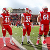 Team Captains and the Coin Toss - Kenyon College Lords at Wabash College Little Giants - Saturday, November 2, 2019