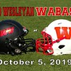 Ohio Wesleyan University Battlin' Bishops at Wabash College Little Giants - Saturday, October 5, 2019
