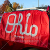 Wabash Tailgate, once we were finally permitted to enter - The 126th Monon Bell Classic Featuring the Wabash College Little Giants at the DePauw University Tigers - Saturday, November 16, 2019