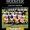 Official Game Program - Wabash College Little Giants at the College of Wooster Fighting Scots - Saturday, October 12, 2019