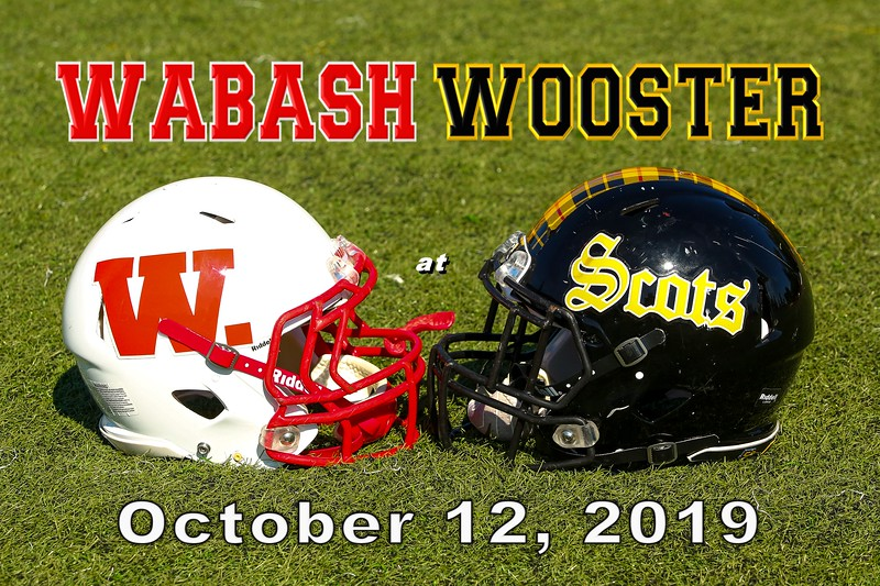 Wabash College Little Giants at the College of Wooster Fighting Scots - Saturday, October 12, 2019