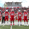 Team Captains and the Coin Toss - Wittenberg University Tigers at Wabash College Little Giants - Saturday, October 19, 2019