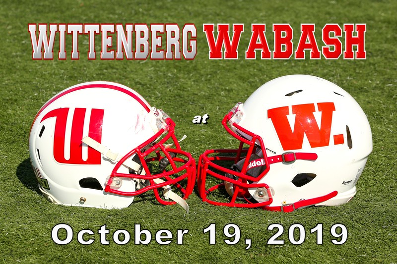 Wittenberg University Tigers at Wabash College Little Giants - Saturday, October 19, 2019