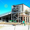 The construction of Wabash College Little Giant Stadium - Saturday, September 19, 2020