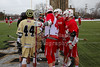 Team Captains and the Coin Toss - Wabash College Little Giants at The College of Wooster Fighting Scots - Saturday, March 18, 2017