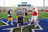 Team Captain and the Coin Toss - Wabash College Little Giants versus Saint Vincent University Bearcats - Game played at Worthington Kilbourne High School Located in Columbus, Ohio - Saturday, March 25, 2017