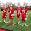 Team Captains and the Coin Toss - Wabash College Little Giants at Denison University Big Red - Saturday, April 6, 2019