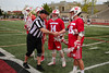 Team Captains and the Coin Toss - Wabash College Little Giants at Ohio Wesleyan University Battlin' Bishops - Wednesday, April 17, 2019