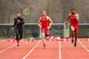 Wabash College Little Giants competing at the Multi-Events Championship held on the Campus of Oberlin College located in Oberlin, Ohio - Saturday, April 25, 2015