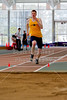 Long Jump Heptathlon - Saturday, March 1, 2014 - North Coast Athletic Conference, NCAC, Track and Field Heptathlon Championship held at Kenyon College, home of the Kenyon Lords and located in Gambier, Ohio