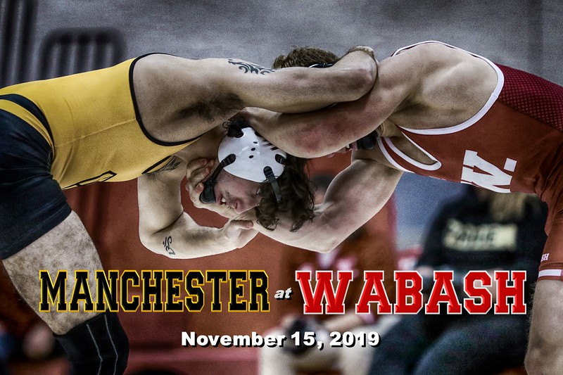 Manchester College Spartans at Wabash College Little Giants - Senior Night - Friday November 15, 2019