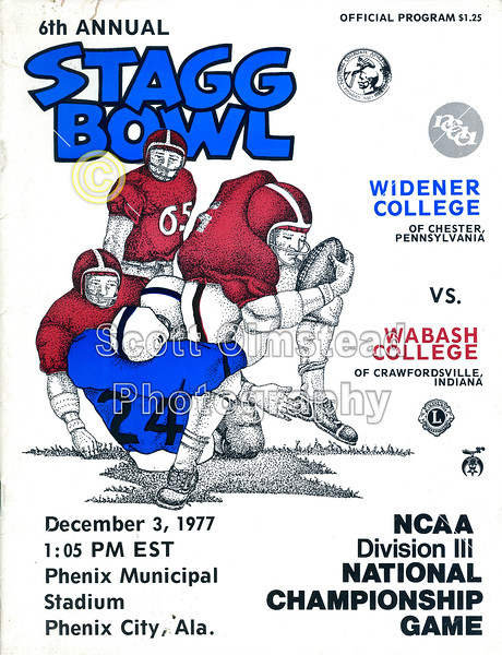 1977-12-03 Stagg Bowl