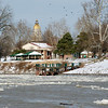 Wabash River January 4, 2014 Fairbanks Park