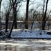 Wabash River January 4, 2014 Honey Creek Levee