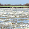 Wabash River at Terre Haute  January 4, 2014