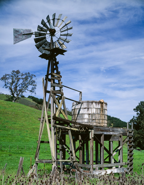 Windmill, Gilroy, California, 1996