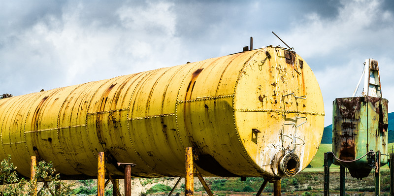Tanks, San Benito County, California, 1995