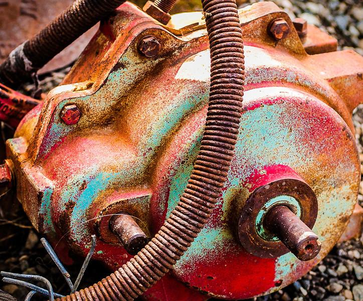 Motor, Old Molson, Washington, 2000
