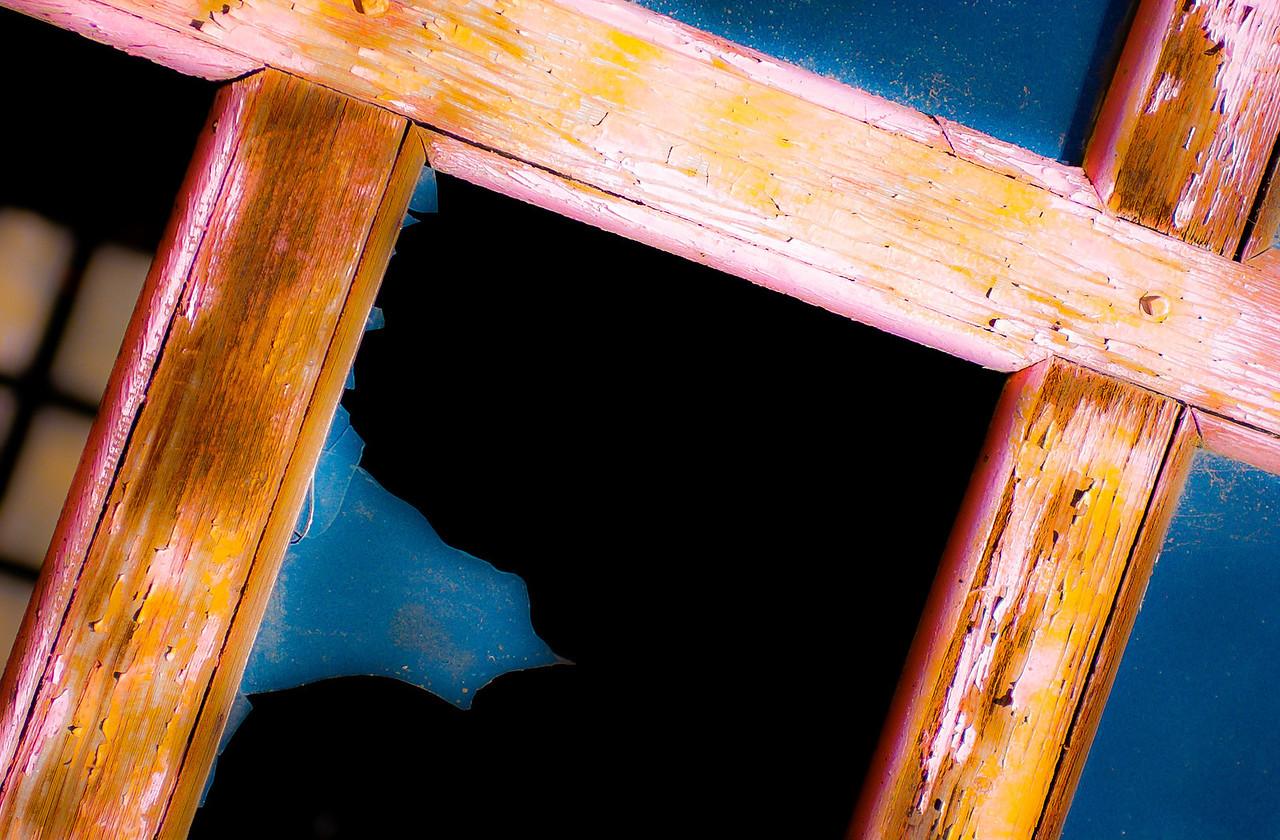 Broken Window, Elsinore, Utah, 2000