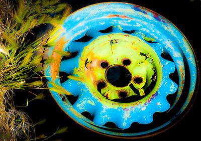 Wheel, Elsinore, Utah, 2000