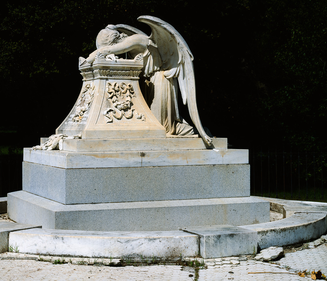 Lathrop tomb, Stanford University, 1994