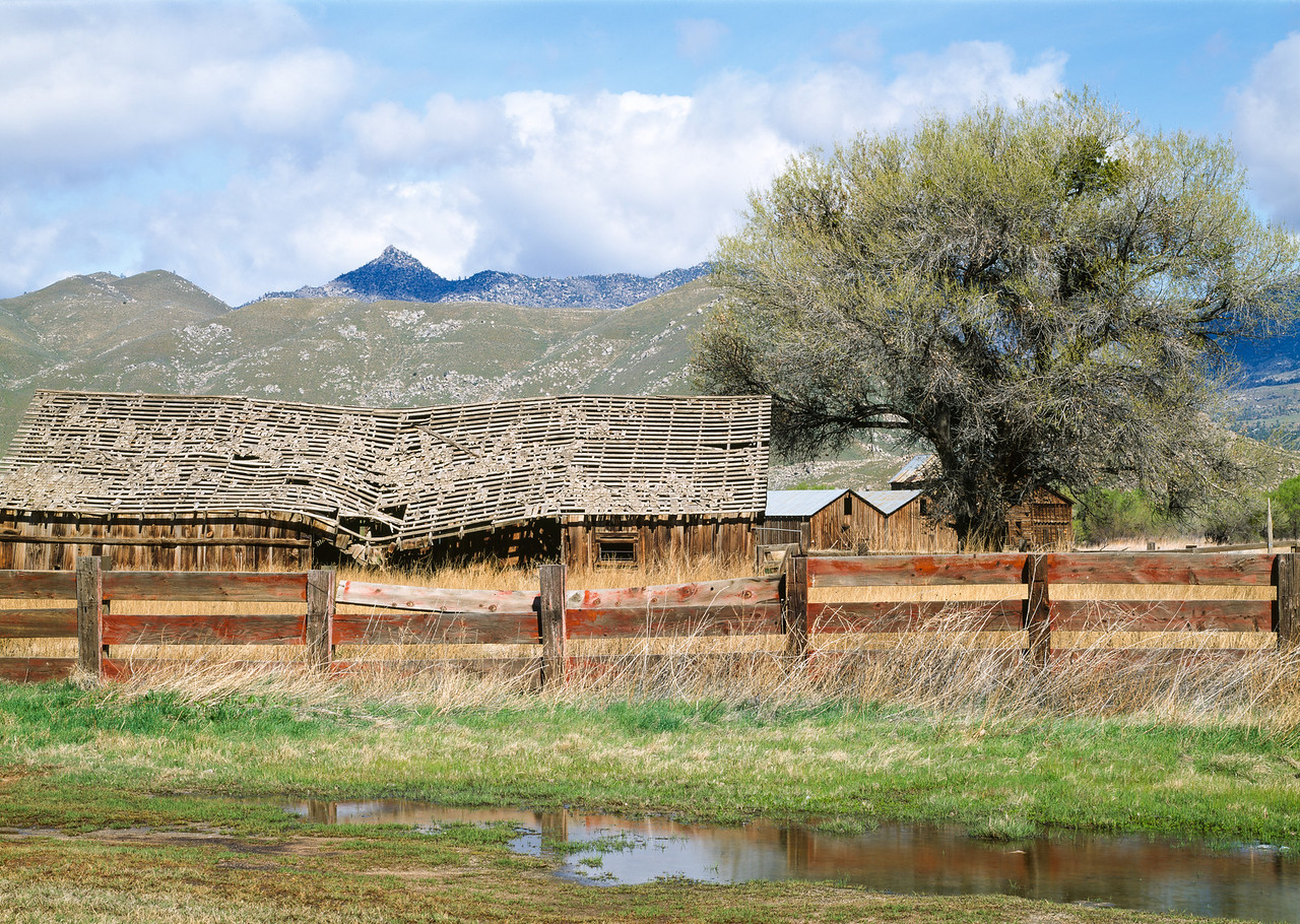 Barn, Weldon, California, 1995