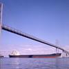 Chesapeake Bay Bridge in the early 1960's