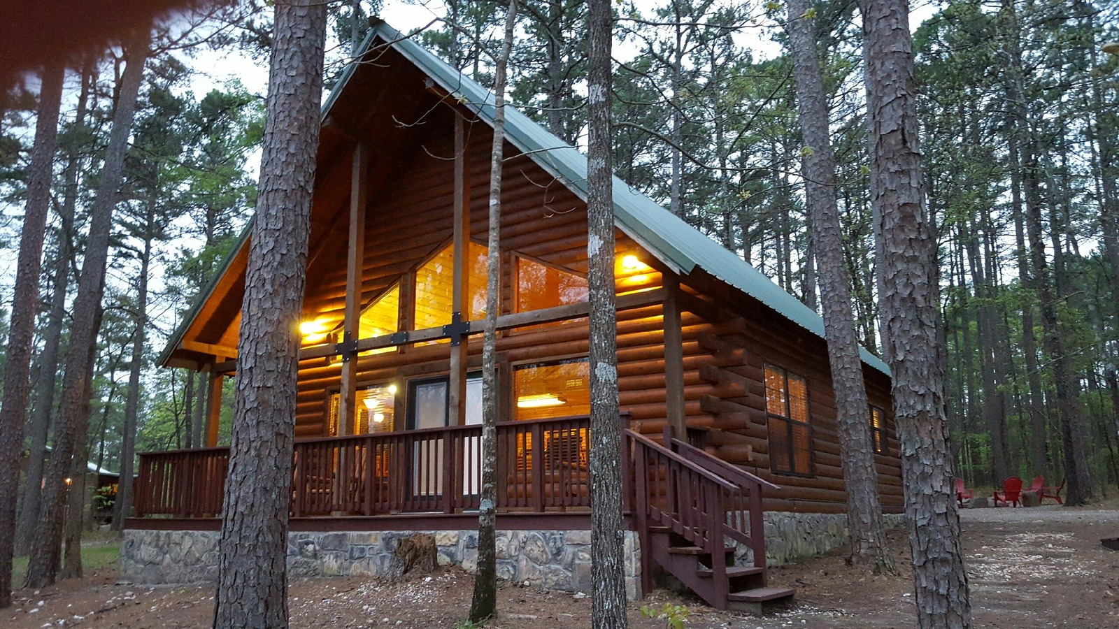 Wagon Wheel Cabin Is Located In Carson Creek Estates, Which Is Less Than 3  Miles To The Best Swim Beaches, Picnic Areas And Boat Ramps On Broken Bow  Lake, ...