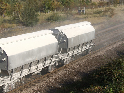 CBA - Covered 2-Axle Limestone Hopper Wagon