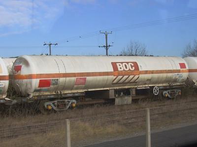 TEA (BOC) - Bogie Cryogenic Tank Wagon