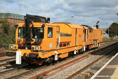 YZA DR80302 Harsco Track Technologies Switch & Crossing Stoneblower @ Westbury