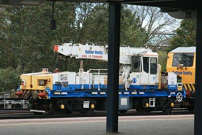 YOB DRP81508 Plasser & Theurer GPC72 Heavy Duty Diesel Hydraulic Crane @ Ashford