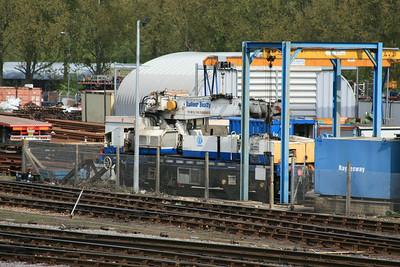 YOB DRP81505 Plasser & Theurer GPC72 Heavy Duty Diesel Hydraulic Crane @ Eastleigh