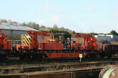 YJB DRC78235 Cowans Sheldon Self-Propelled Heavy Duty Twin Jib Crane @ Tavistock Junction, Plymouth