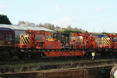 YJB DRC78226 Cowans Sheldon Self-Propelled Heavy Duty Twin Jib Crane @ Tavistock Junction, Plymouth
