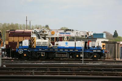 YOB DRP81525 Plasser & Theurer GPC72 Heavy Duty Diesel Hydraulic Crane @ Eastleigh