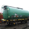 TTA tank VTG60773 is seen at Booths, Rotherham after arrival from storage at Long Marston on 22nd December 2012