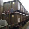 All PNAs were stacked like this through the yard. Here 3832 sits in 3819 in Booths Rotherham on 22nd December 2012