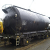 TUA tank VTG70400 sits in Booths Rotherham awaiting disposal on 22nd December 2012