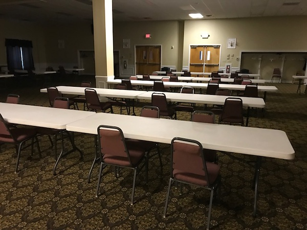 Meeting Room on Second Floor of new firehouse building - 412 W. Kings Hwy.