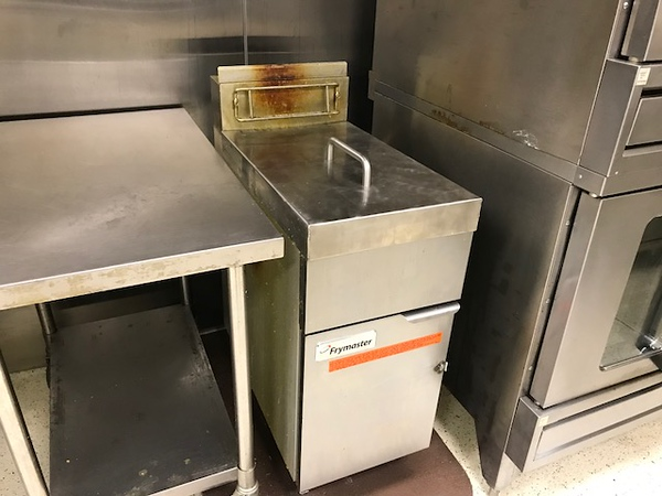 Deep Fat Fryer in Kitchen adjacent to Banquet Hall - 412 W. Kings Hwy