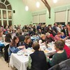 PHOTOS BY JENN SMITH — THE BERKSHIRE EAGLE <br /> Dozens of area residents filled the Dalton United Methodist Church on Sunday night to support the Empty Bowls Dinner presented by the National Honor Society chapter of Wahconah Regional High School. All proceeds will benefit area food programs.